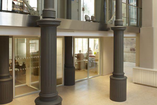 intérieur de la mairie de Sarrebourg