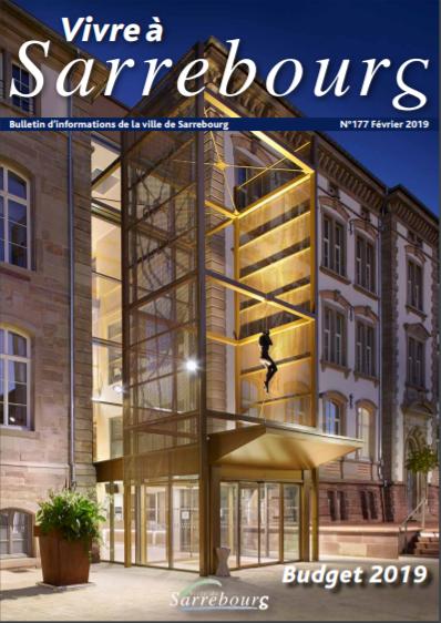 Bulletin municipal vivre à Sarrebourg février 2019