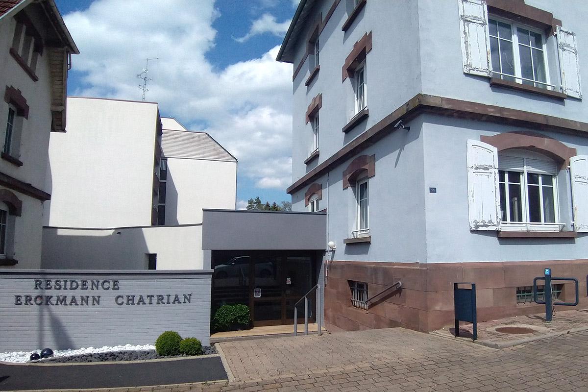 résidence erckmann chatrian Sarrebourg