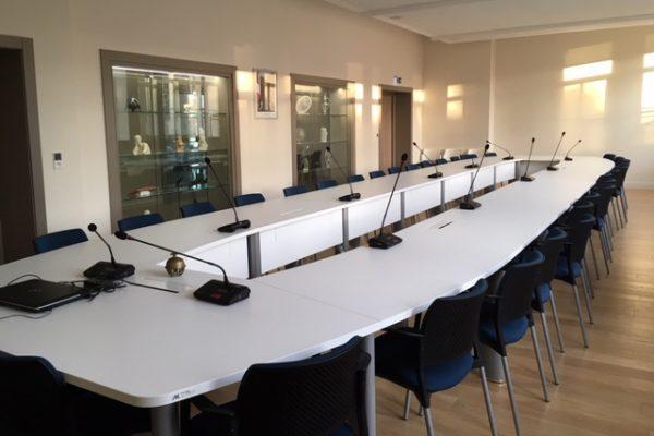 Salle du Conseil Municipal Sarrebourg