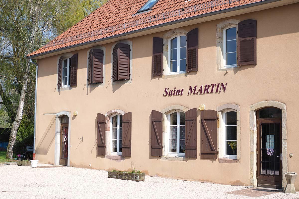Façade du Centre St Martin