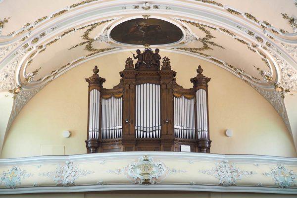 Orgue de l'Eglise de Hoff