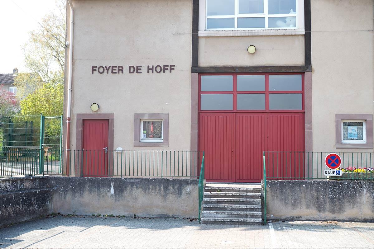 Façade du Foyer de Hoff