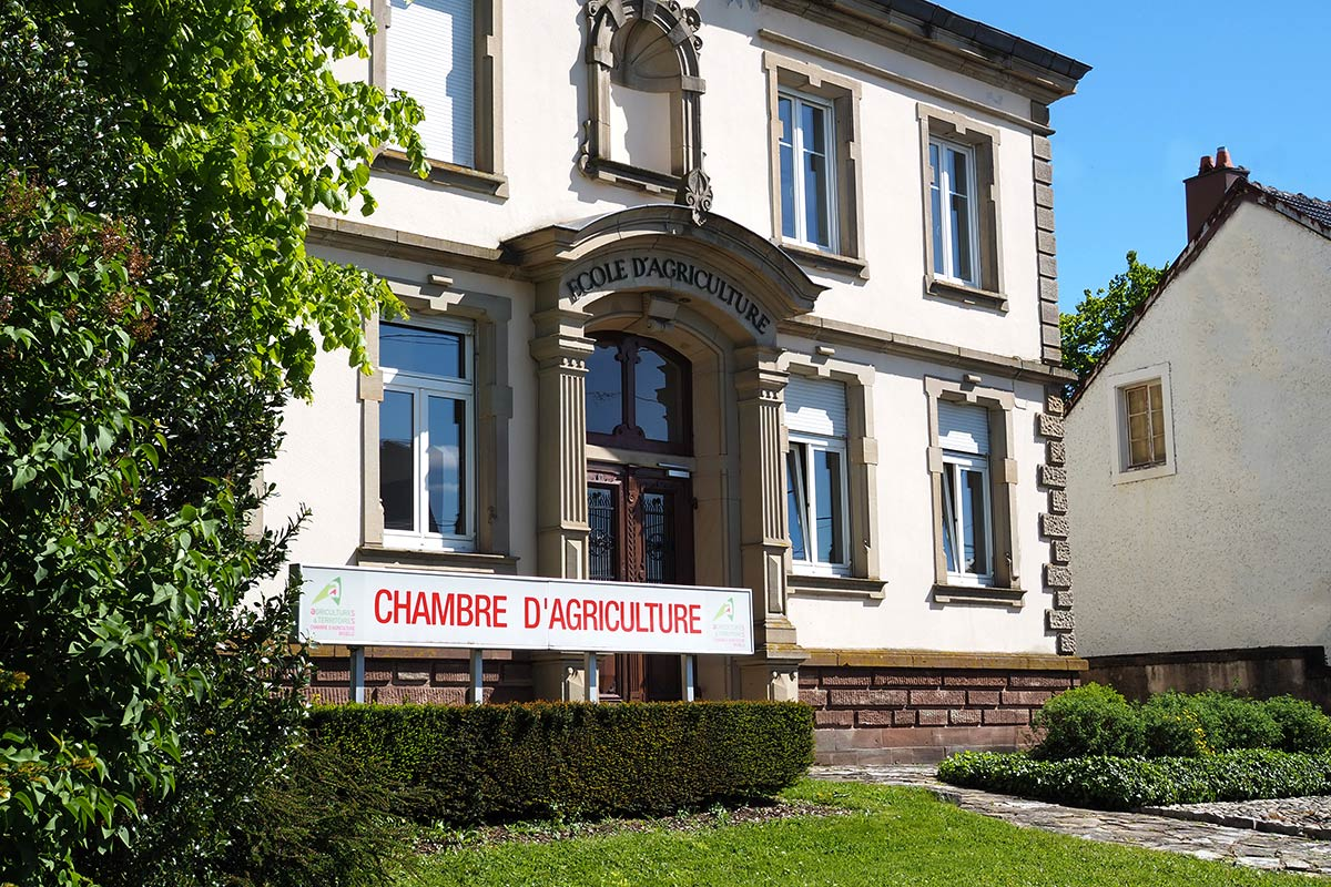 Chambre d'agriculture Sarrebourg