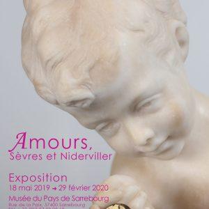 Exposition Amours, Sèvres et Niderviller au Musée du Pays de Sarrebourg