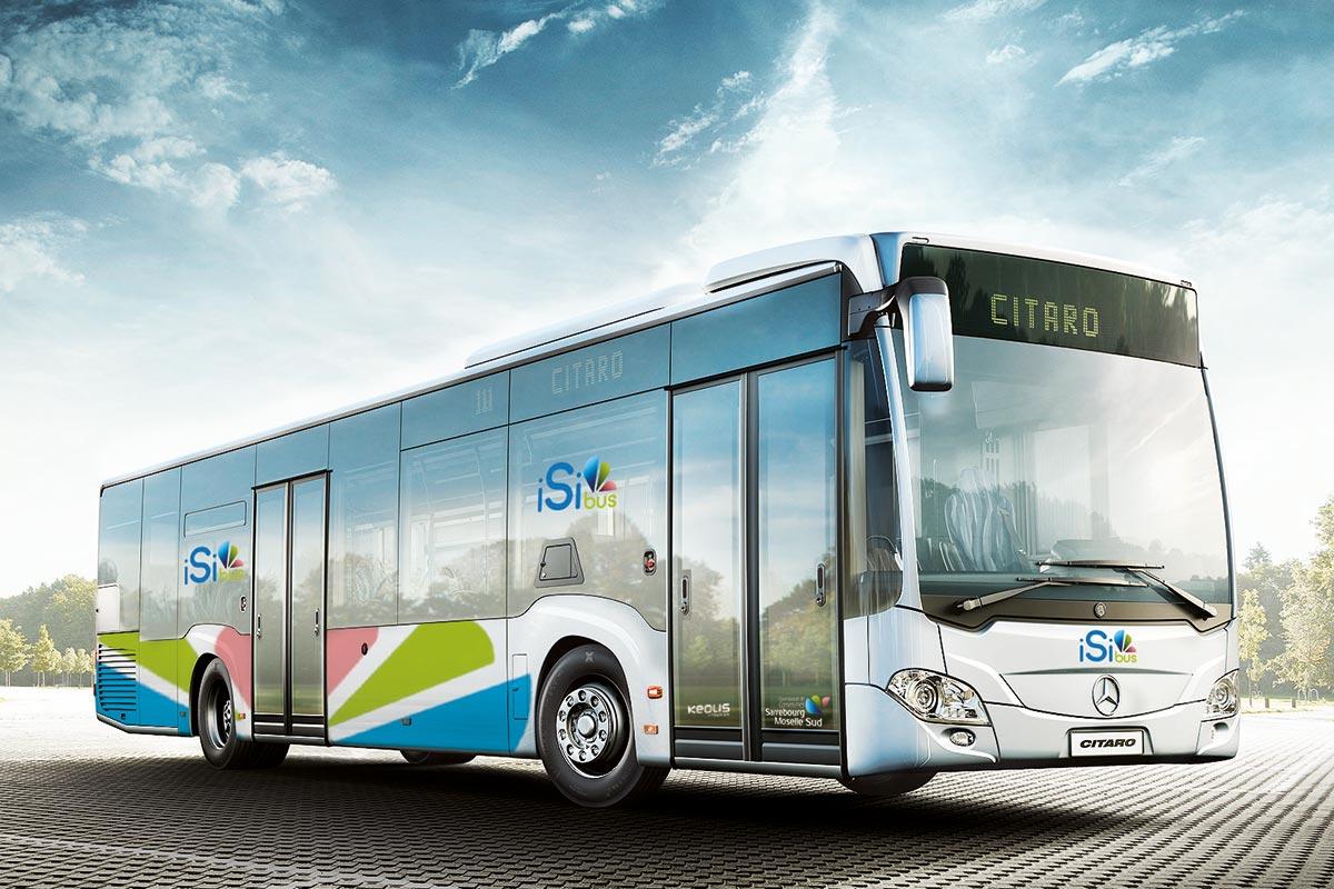 Bus isibus Sarrebourg