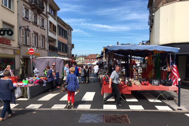 Marché de Sarrebourg