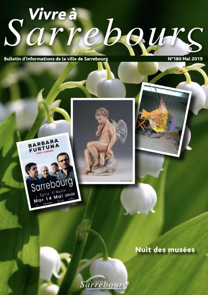 Vivre à Sarrebourg mai 2019 - couverture