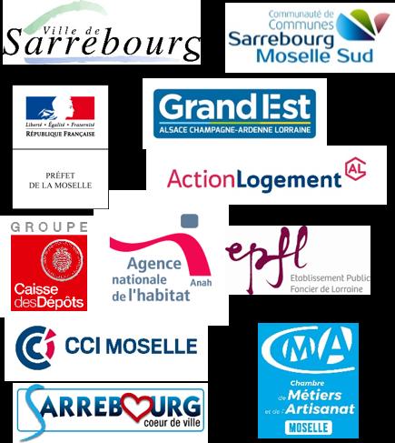 logos partenaires action coeur de ville